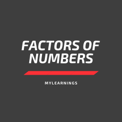 Factors of numbers
