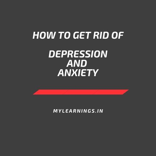 How to get rid of depression